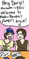 A Fangirl's Brain