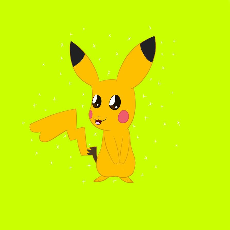 Shiny pikachu by 88angelfox