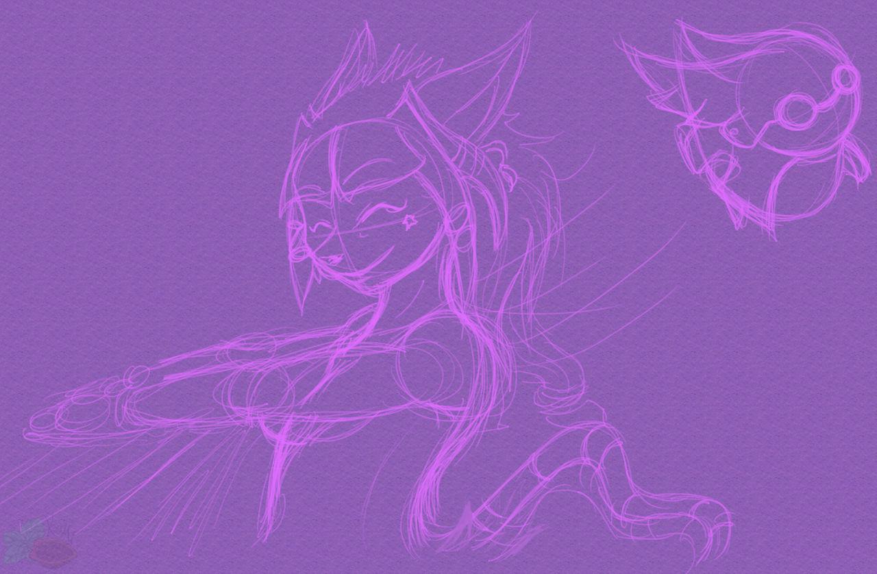 [RK x GS] Namid and Fleet (Sketch)