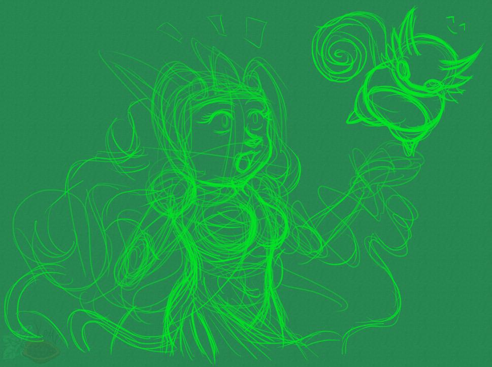 [RK x GS] Flora and Vine (Sketch)