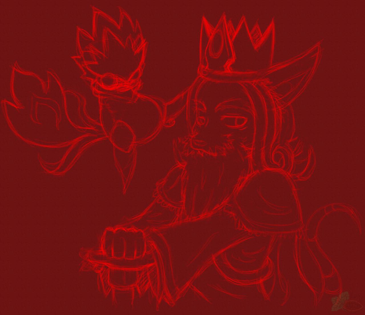 [RK x GS] Zephyrus and Tinder (Sketch)