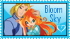 Bloom and Sky Stamp