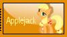 Applejack Stamp by Illyera