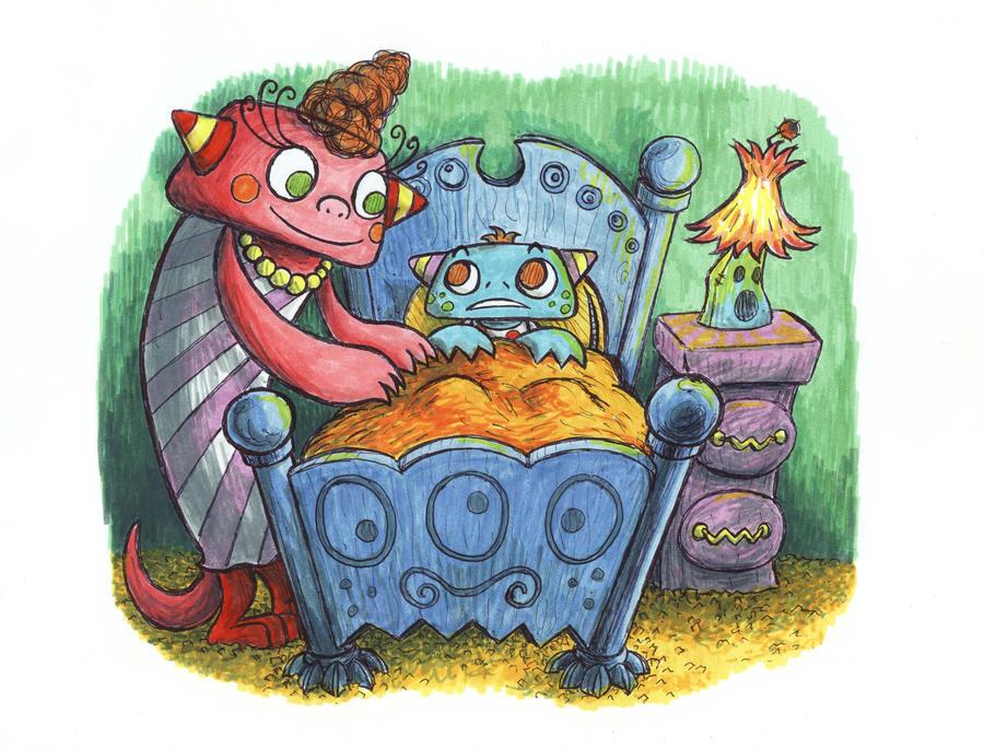 Monster Story by jbrenthill