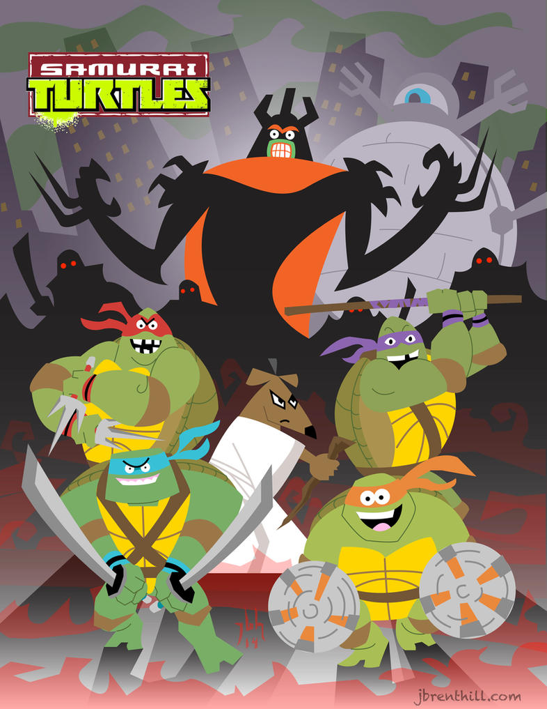 Samurai Turtles by jbrenthill
