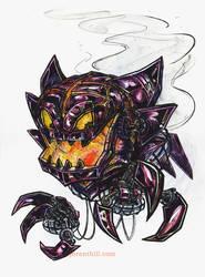 Steam-Powered Pokemon: Haunter