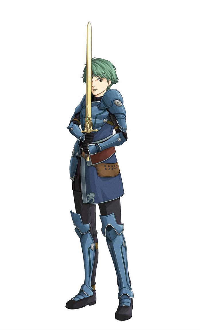 Alm - Fire Emblem Echoes by Marthur