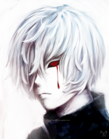 Ken Kaneki by azumeris