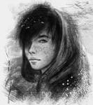 Textured sketch