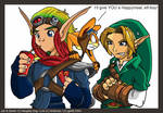 Jak+Link: Seperated at birth?