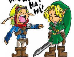 Jak+Link Doodle by geN8hedgehog