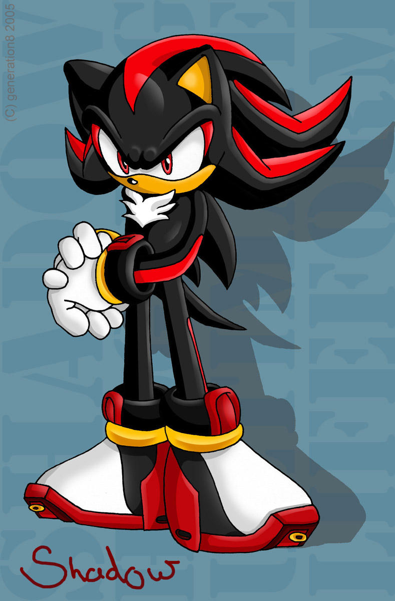 Shadow The Hedgehog By Gen8hedgehog On Deviantart