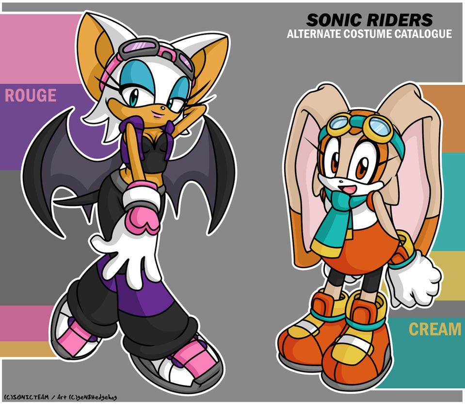 Sonic riders having sex fucking