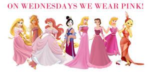 Disney Pink Wednesday