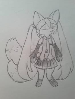 Kitsune Miku