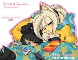 Yo... guys... wake up already. by stylishGamer