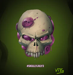 Skully July1 by VIZg