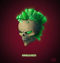 Skully July2 by VIZg