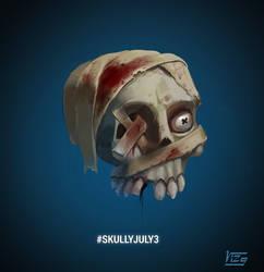 Skully July4 by VIZg