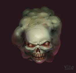Skully July2017 by VIZg