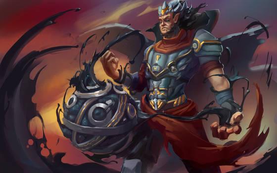 Cursed king by VIZg