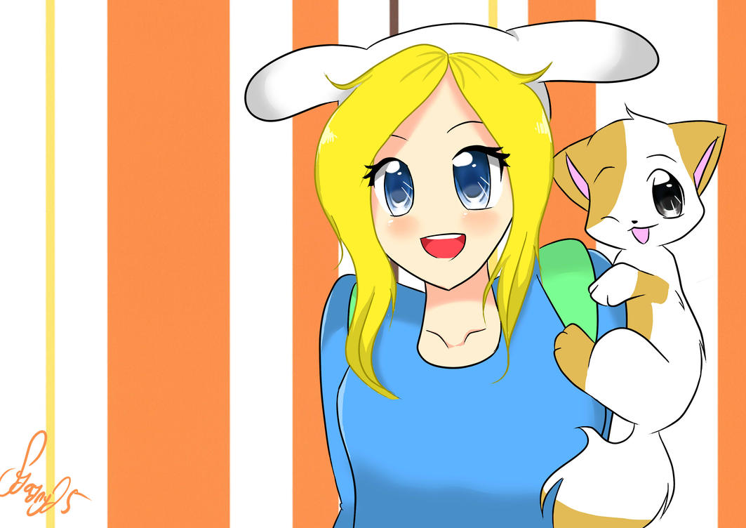 FP and Fionna by The-Human-Girl on DeviantArt