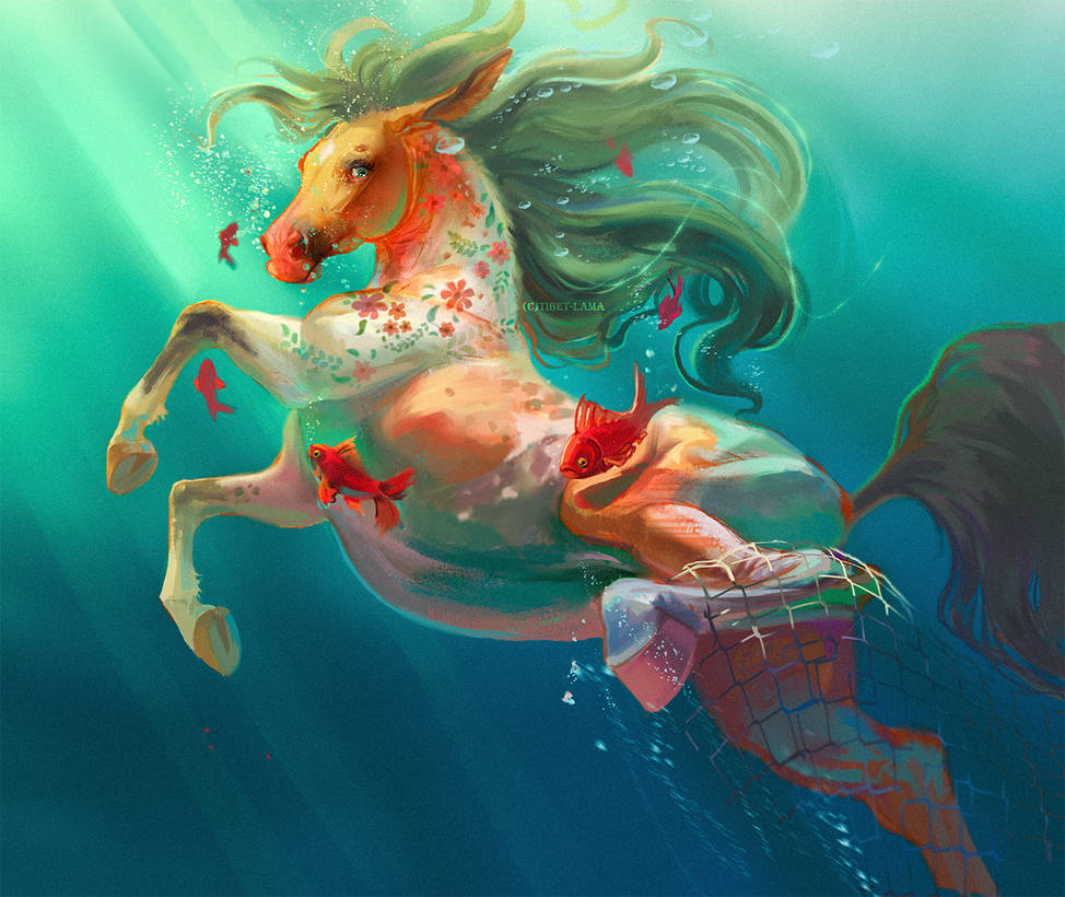 Under the water by Tibet-Lama