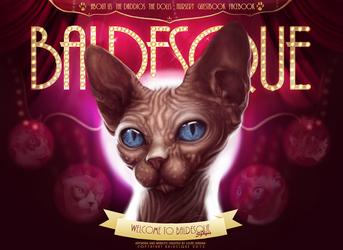 Baldesque Website by mrlouiejordan