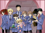Ouran Group Wallpaper