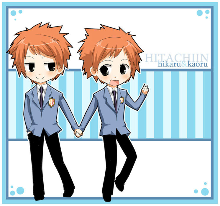 ouran host club twins chibis by hostclub on deviantart