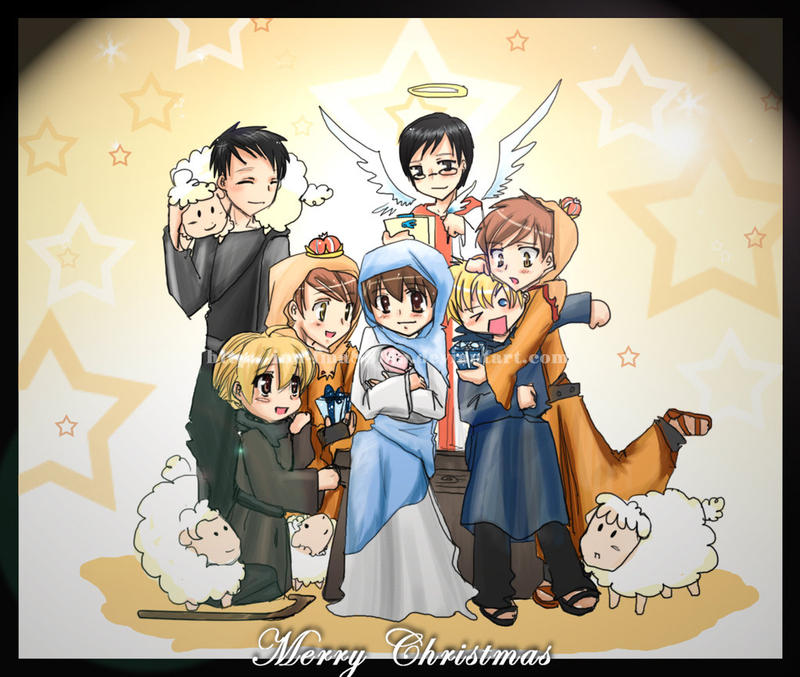 True Merry Christmas +ouran+ by HostClub on DeviantArt