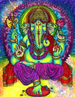 Lord Ganesha by Mutated-Sushi