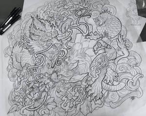 Crouching Fu Tiger Hidden Trippy Dragon