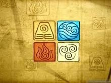 Legend of Korra four nation symbols by turtlesrawesome1999