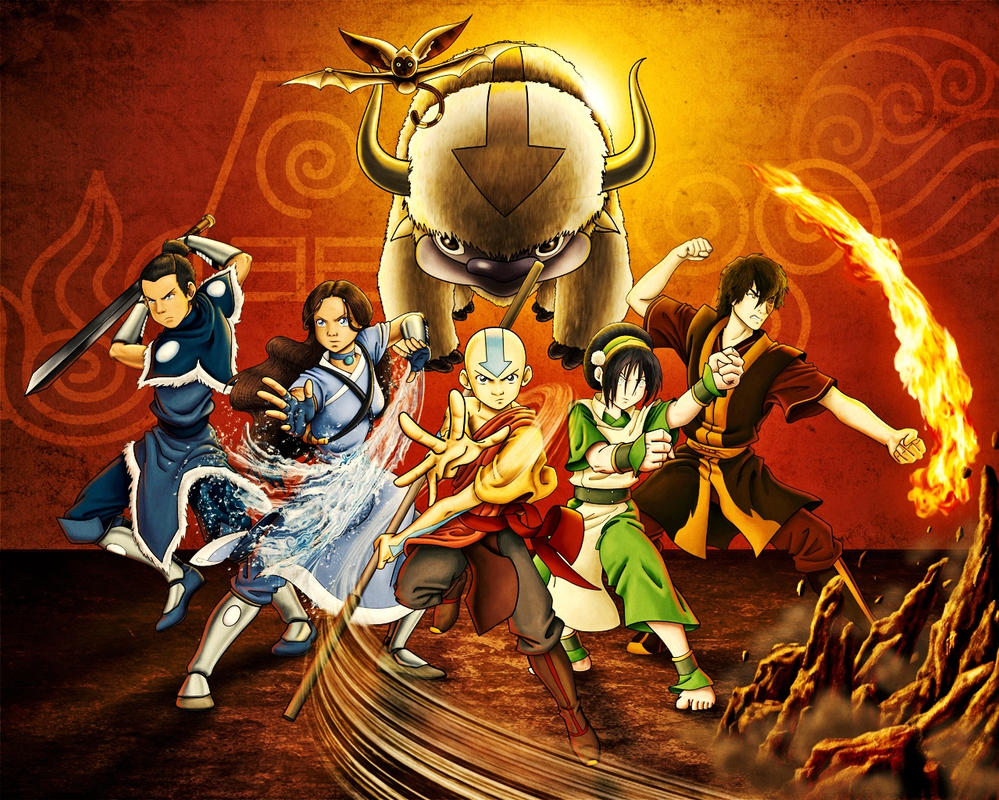 Avatar The Last Airbender Wallpaper By Turtlesrawesome1999