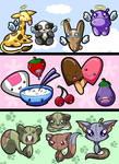 OMFG Cute animals and foodz