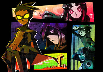 TEEN TITANS by kope40