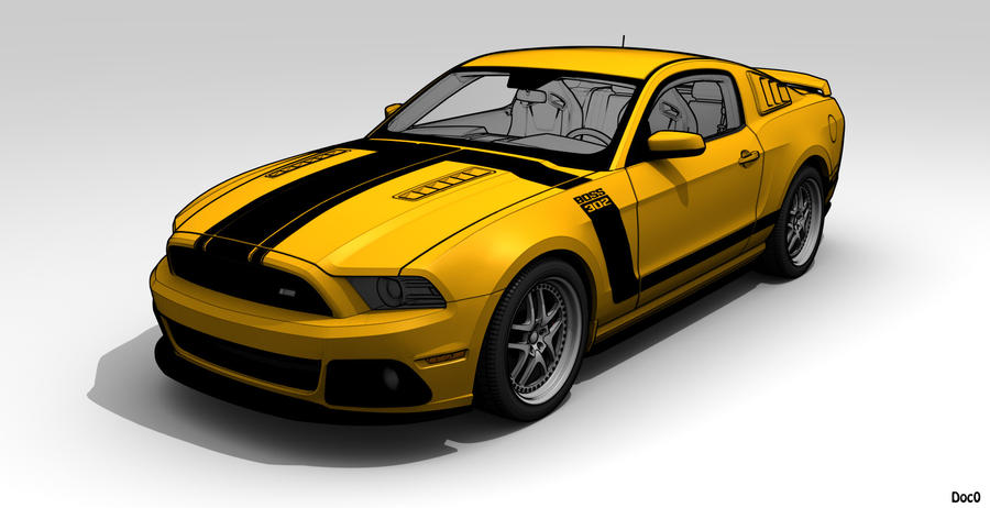 Mustang boss 302 2013 by the kran on deviantart mustang boss 302 2013 by the kran malvernweather Gallery