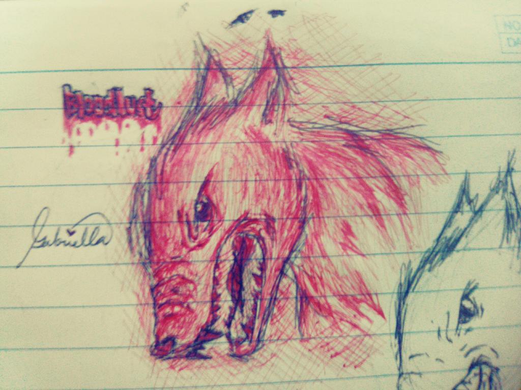 Bloodlust by imatrashcan2