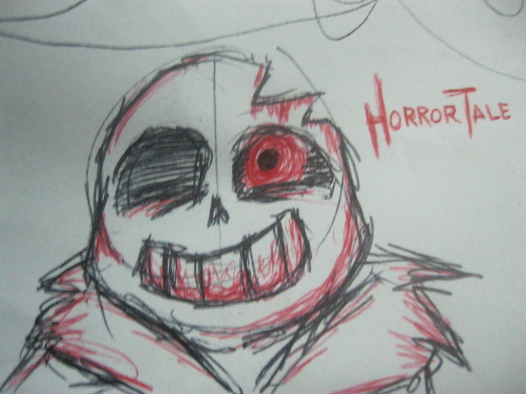 horrortale sans by imatrashcan2