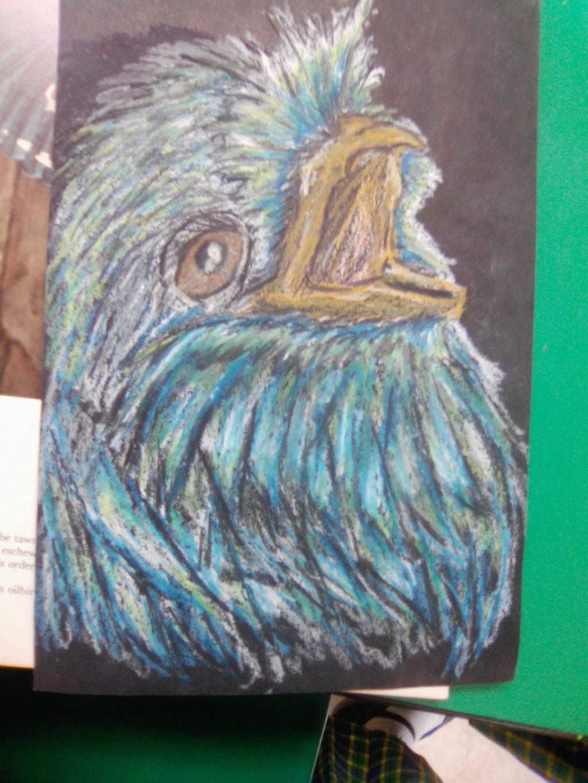 Random bird by imatrashcan2