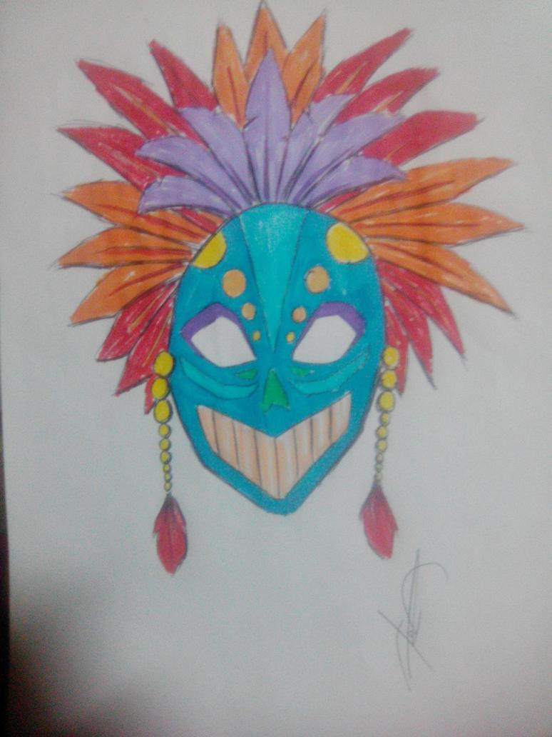 Festival Mask by imatrashcan2