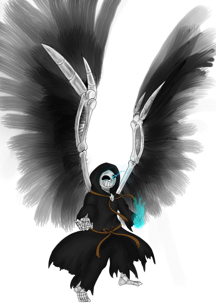 Reaper Sans by imatrashcan2
