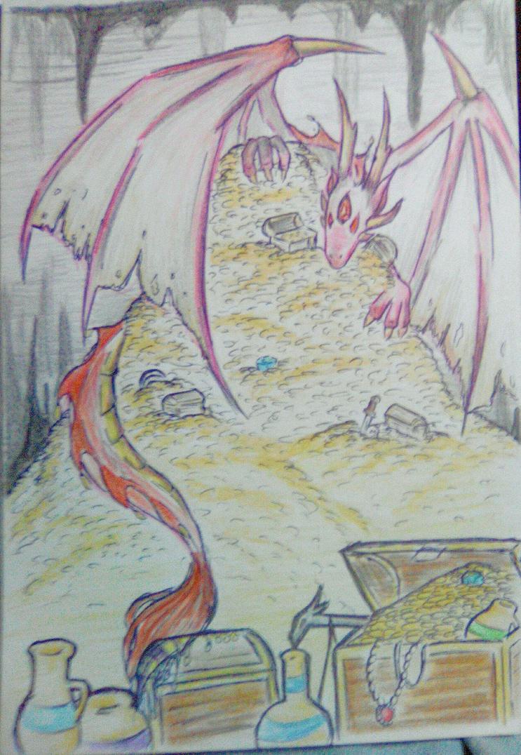 random dragon .-. by imatrashcan2