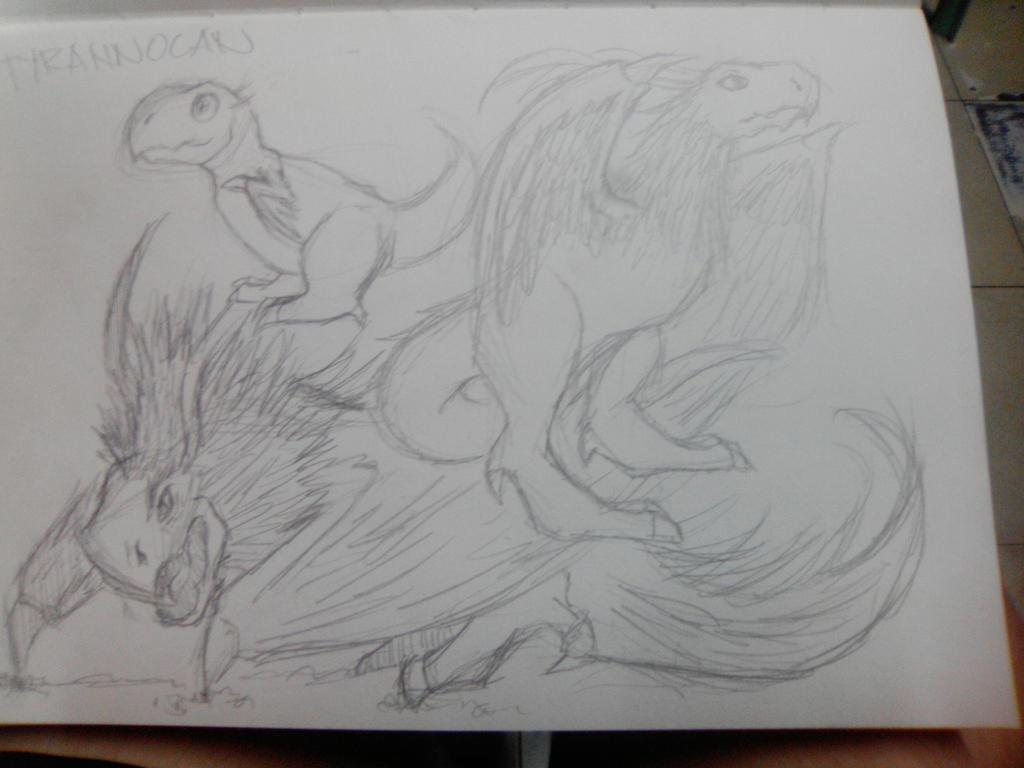 Tyrannocan by imatrashcan2
