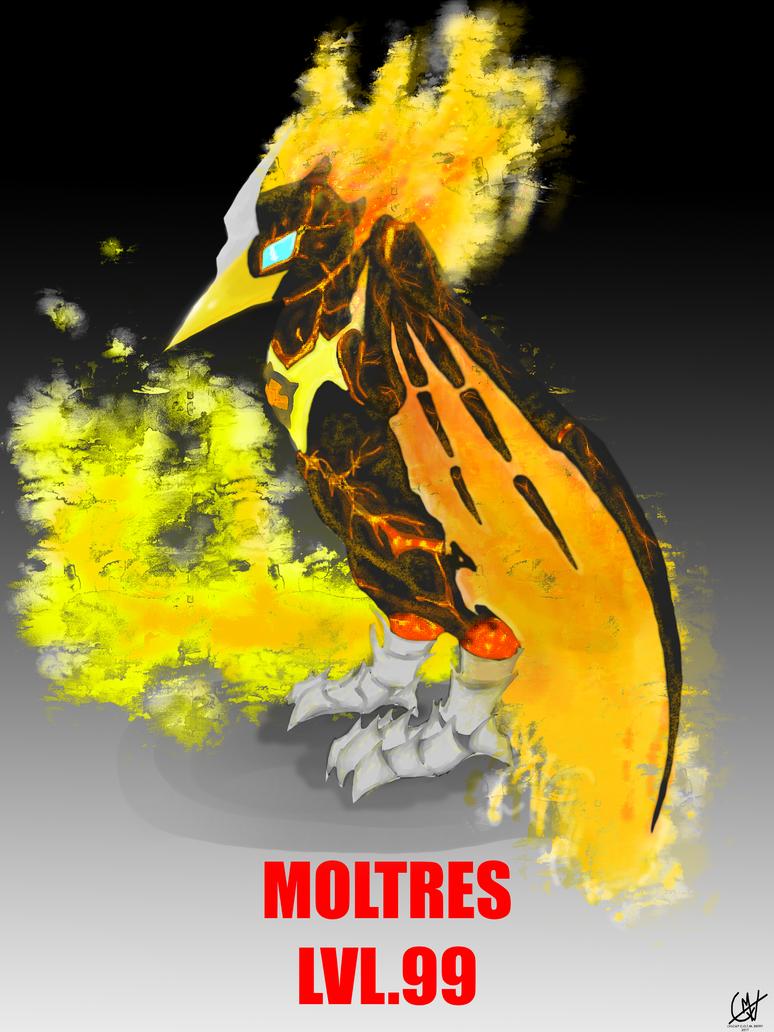 MOLTRES lvl99 by imatrashcan2