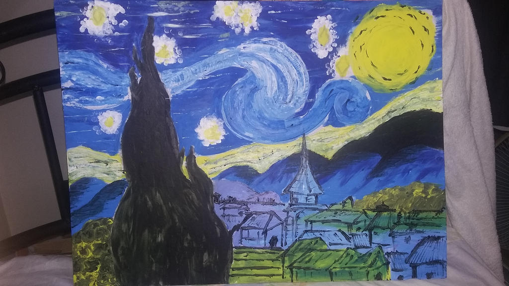 Painting by imatrashcan2
