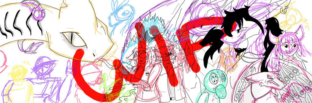 Me And Mah Family by imatrashcan2