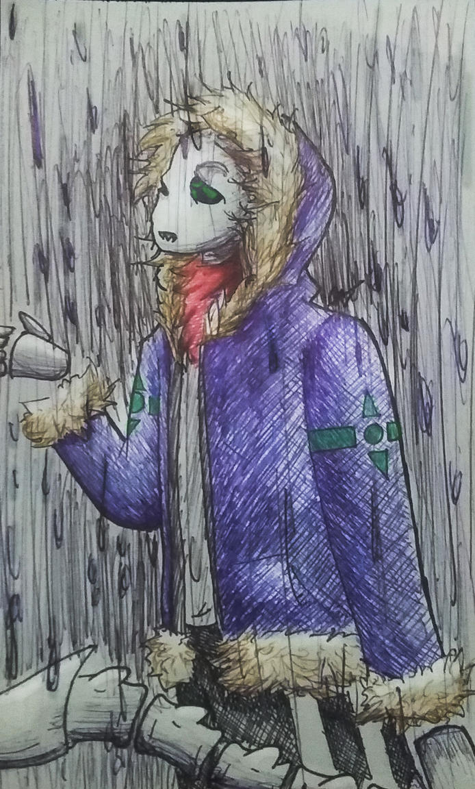 Its raining by imatrashcan2