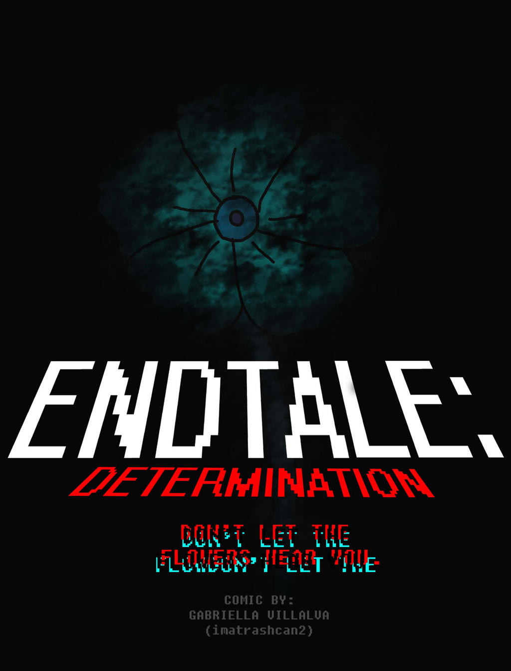 EndTale Comic Cover by imatrashcan2